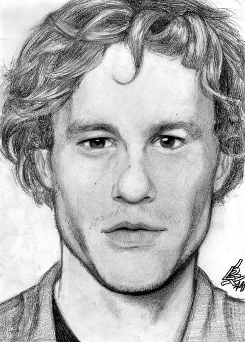 Heath Ledger par LucasLimaArts